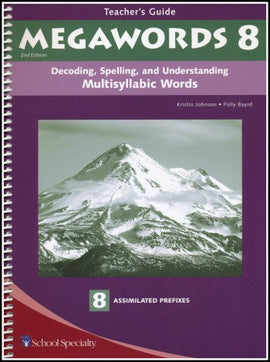 Megawords 8 Teacher's Guide, 2nd Edition