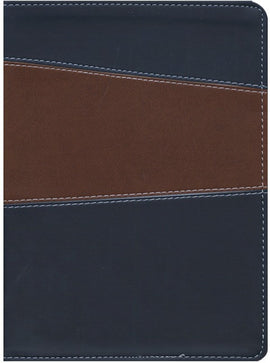 Message Bible - Remix 2.0 (Brown/Navy Imitation Leather)