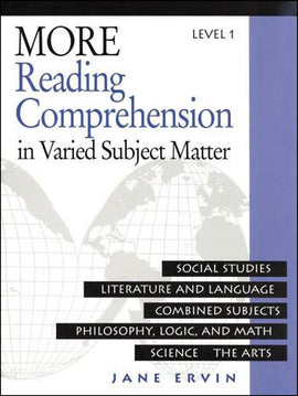 More Reading Comprehension in Varied Subject Matter - Level 1