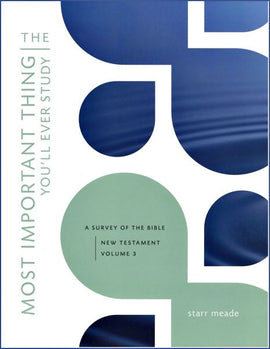 Most Important Thing You'll Ever Study: A Survey of the Bible New Testament (Vol. 3 & 4 plus A/K)