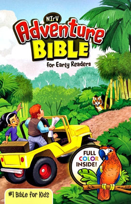 Adventure Bible for Early Readers - NIrV