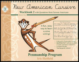 New American Cursive II with Quotations from Famous Americans, Grade 2