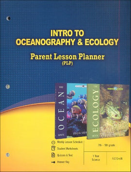 Intro To Oceanography and Ecology Parent Lesson Planner