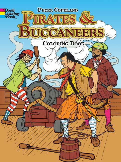 Pirates & Buccaneers Coloring Book
