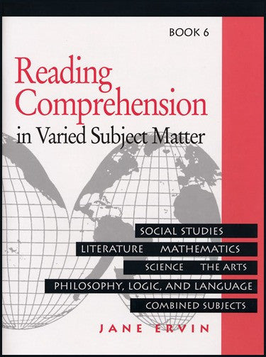 Reading Comprehension in Varied Subject Matter- Book 6