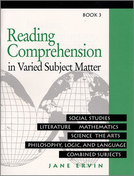 Reading Comprehension in Varied Subject Matter- Book 3