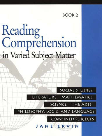 Reading Comprehension in Varied Subject Matter- Book 2