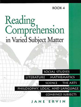 Reading Comprehension in Varied Subject Matter- Book 4