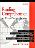 Reading Comprehension in Varied Subject Matter- Book 5