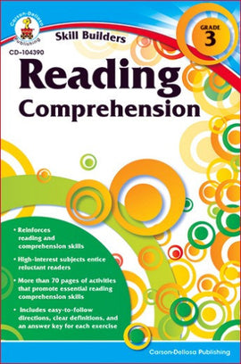 Skill Builders: Reading Comprehension Grade 3