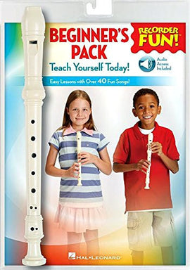Recorder Fun! Beginner's Pack with Flute