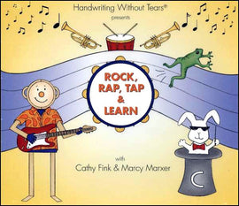 Rock, Rap, Tap & Learn CD - Handwriting Without Tears