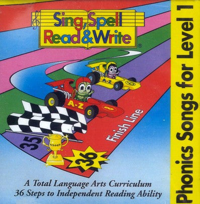 Sing, Spell, Read & Write - Level 1, 2nd Edition Audio CD (blue)
