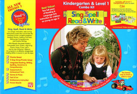 Sing, Spell Read and Write - Kindergarten/ Level 1 Combo (2/E)