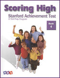 Scoring High on the Standard Achievement Test (SAT/10) Grade 4 Student Book
