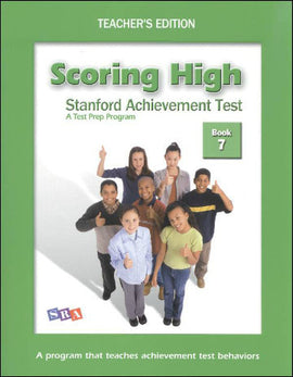 Scoring High on the Standard Achievement Test (SAT/10) Grade 7 Teacher's Edition