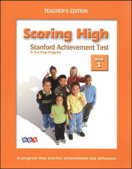 Scoring High on the Standard Achievement Test (SAT/10) Grade 1 Teacher's Edition