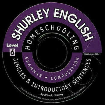 Shurley English Level 6 Introductory CD