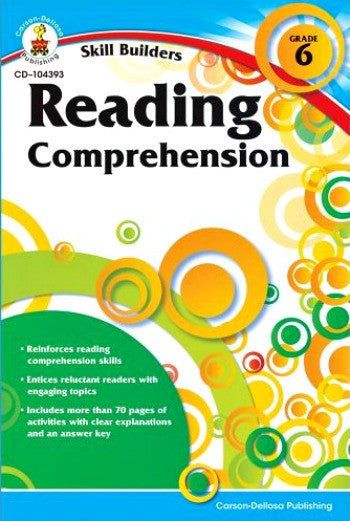 Skill Builders: Reading Comprehension Grade 6