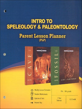 Intro To Speleology and Paleontology Parent Lesson Planner
