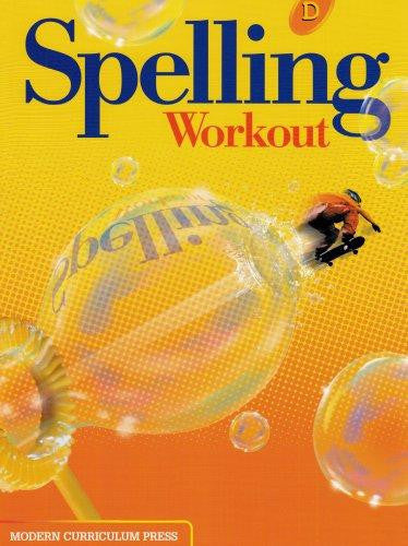 Spelling Workout Level D Student Book