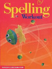 Spelling Workout Level A Student Book