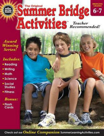 The Original Summer Bridge Activities, (Grades 6 - 7)