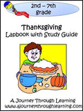 Thanksgiving Lapbook with Study Guide