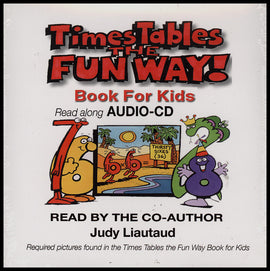 Times Tables the Fun Way Audio Book on CD