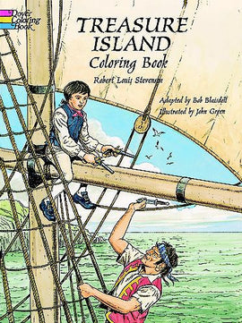 Treasure Island Coloring Book