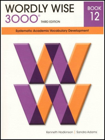 Wordly Wise 3000 Student Book Grade 12, 3rd Edition