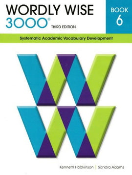 Wordly Wise 3000 Student Book Grade 6, 3rd Edition