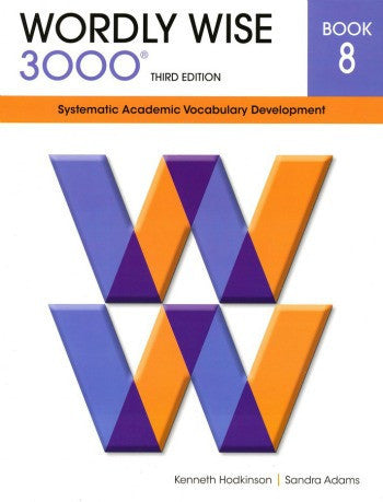 Wordly Wise 3000 Student Book Grade 8, 3rd Edition