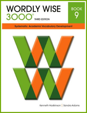 Wordly Wise 3000 Student Book Grade 9, 3rd Edition