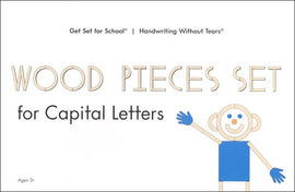 Wood Pieces Set for Capital Letters - Handwriting Without Tears