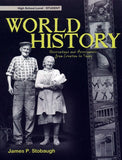 World History Student Book, by James Stobaugh
