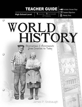 World History Teacher Book, by James Stobaugh