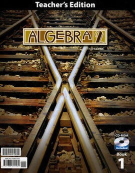 BJU Press Algebra 2 Teacher's Edition (3rd ed.)