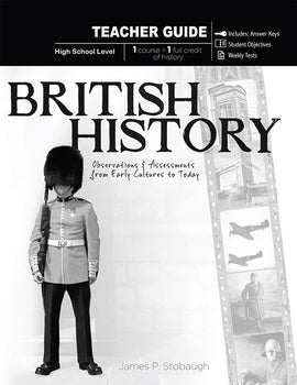 British History Teacher Book, by James Stobaugh