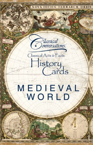 Classical Acts and Facts History Cards: Medieval World
