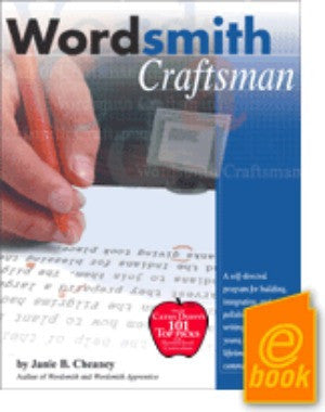 Wordsmith Craftsman E-Book (10th grade & up)