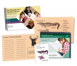 Phonetic Zoo Spelling Starter Set A