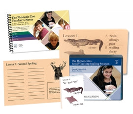 Phonetic Zoo Spelling Starter Set B