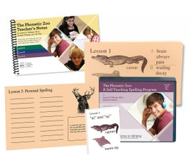 Phonetic Zoo Spelling Starter Set C