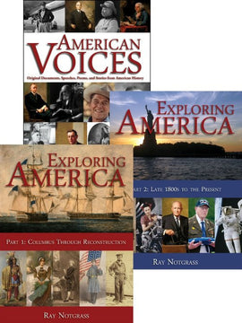 Exploring America Curriculum Package (Updated)