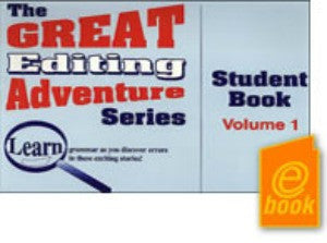 Great Editing Adventure Series Volume 1 Student E-Book