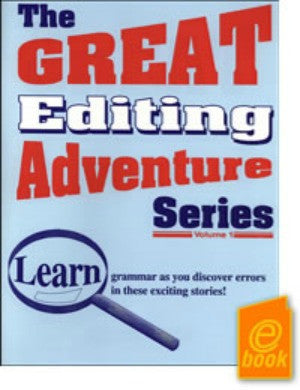 Great Editing Adventure Series Teacher's Guide Volume E-Book I