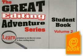 Great Editing Adventure Series Volume 2 Student E-Book