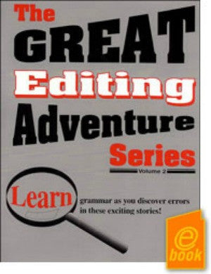 Great Editing Adventure Series Teacher's Guide Volume II E-Book