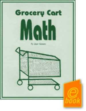 Grocery Cart Math E-Book